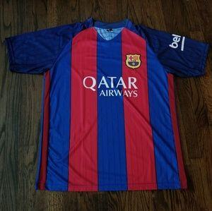 Barcelona men's soccer Jersey